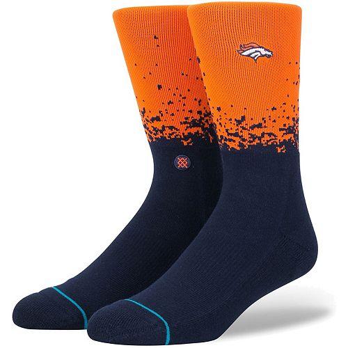 Men's Stance Denver Broncos Fade 2 Crew Socks
