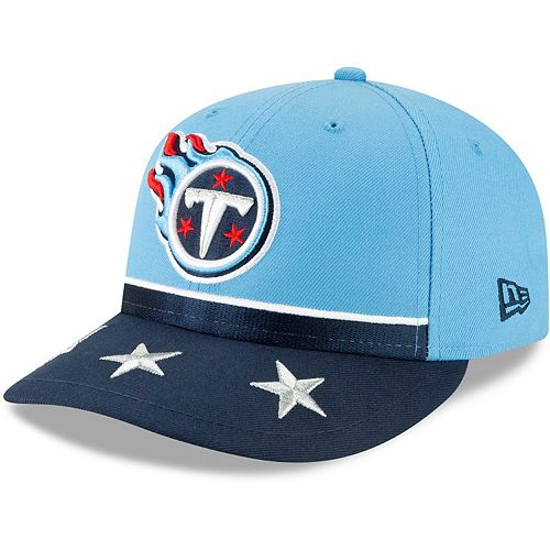 Tennessee Titans New Era 2019 NFL Draft On-Stage Official Low Profile 59FIFTY Fitted Hat - Light Blue
