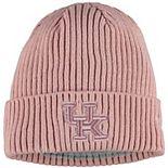 Women's New Era Pink Kentucky Wildcats Team Glisten Cuffed Knit Hat