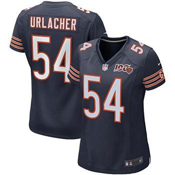 quality design 9f3be 37143 Women's Nike Brian Urlacher Navy Chicago Bears 100th Season Retired Game  Jersey