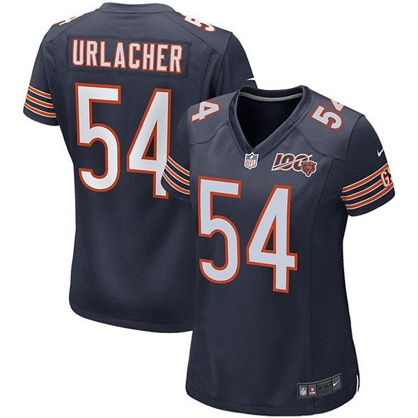 Women's Nike Brian Urlacher Navy Chicago Bears 100th Season ...