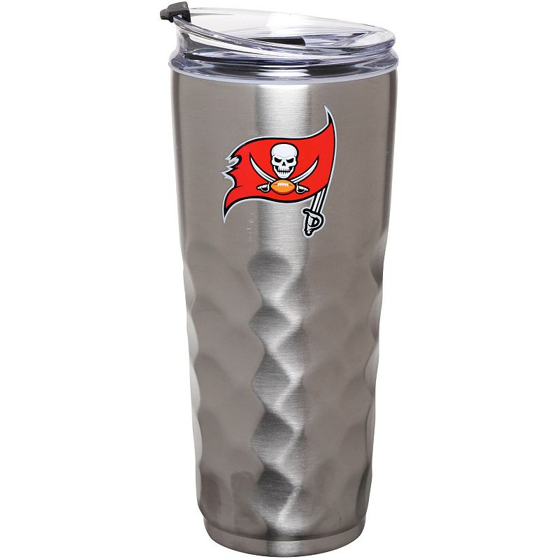 Tampa Bay Buccaneers 32oz. Stainless Steel Diamond Tumbler. Multicolor