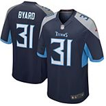 Men's Nike Kevin Byard Navy Tennessee Titans New 2018 Game Jersey