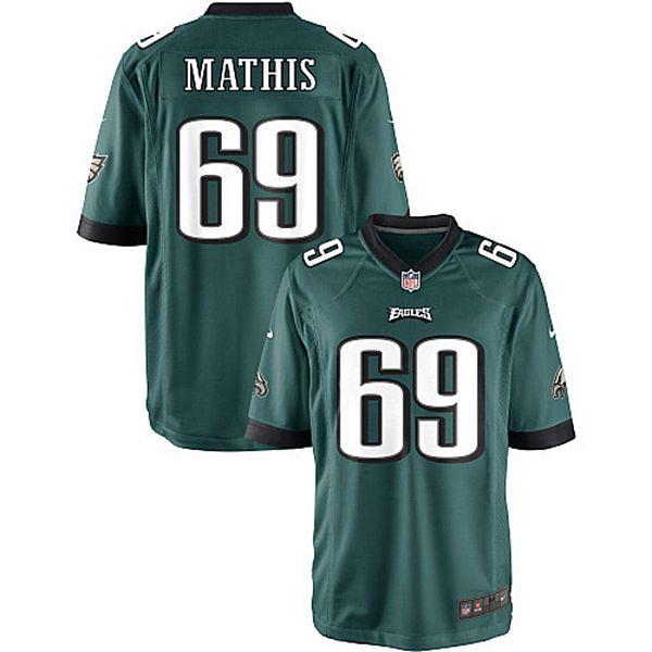 Youth Philadelphia Eagles Evan Mathis Nike Midnight Green Team ...