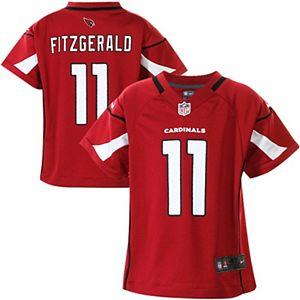 Toddler Arizona Cardinals Larry Fitzgerald Nike Cardinal Game Jersey