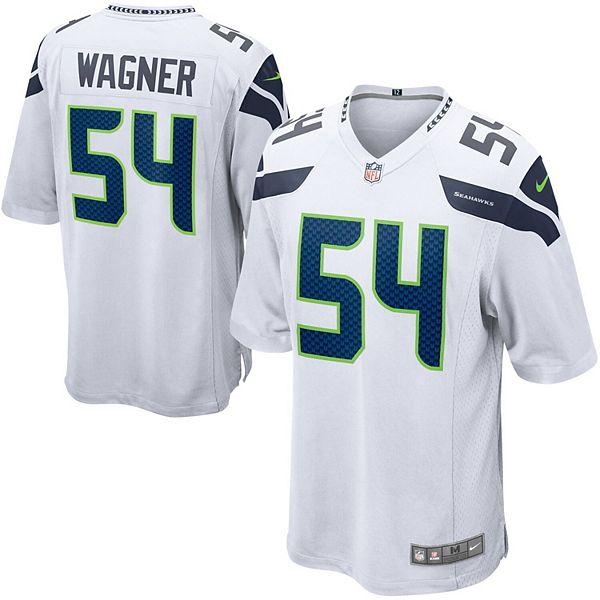 Men's Nike Bobby Wagner White Seattle Seahawks Game Jersey