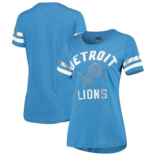 reputable site 48bc6 cc4f0 Women's G-III 4Her by Carl Banks Light Blue Detroit Lions ...