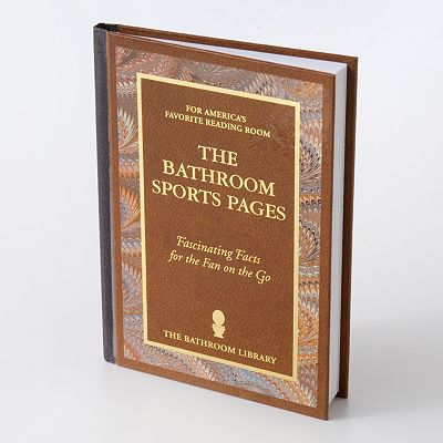 The Bathroom Sports Pages Book