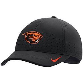 Youth Nike Black Oregon State Beavers Sideline Coaches Legacy 91 Performance Adjustable Hat
