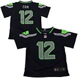 Toddler Seattle Seahawks 12s Nike College Navy Game Jersey