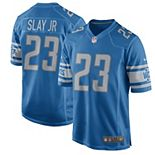 Men's Nike Darius Slay Jr Blue Detroit Lions 2017 Game Jersey