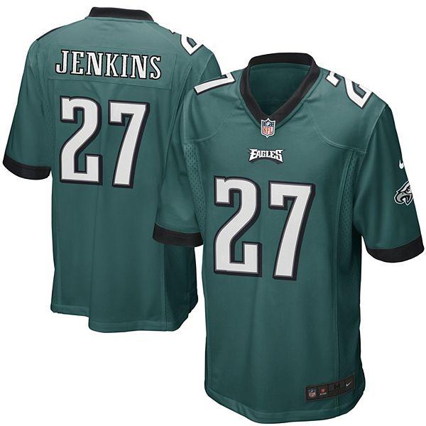 Mens Philadelphia Eagles Malcolm Jenkins Nike Midnight Green Game Jersey