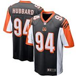Men's Nike Sam Hubbard Black Cincinnati Bengals Game Player Jersey