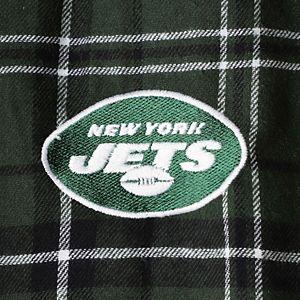 Men's Concepts Sport Green/Black New York Jets Ultimate Plaid Flannel Pants