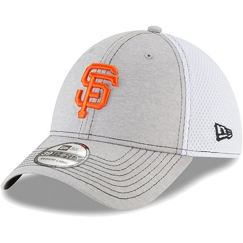 Men's New Era Gray San Francisco Giants Classic Shade Neo 39THIRTY Flex Hat