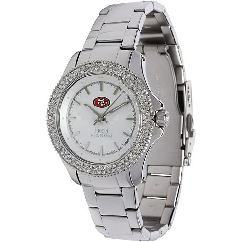 Women's  San Francisco 49ers Glitz Bracelet Watch
