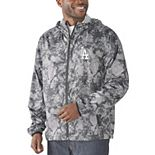 Men's G-III Sports by Carl Banks Charcoal Los Angeles Dodgers Wind Chill Lightweight Full-Zip Jacket