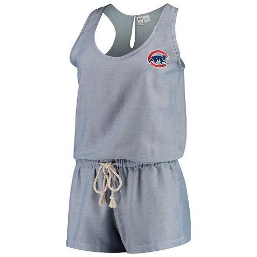 Women's Concepts Sport Blue Chicago Cubs Breakaway Romper