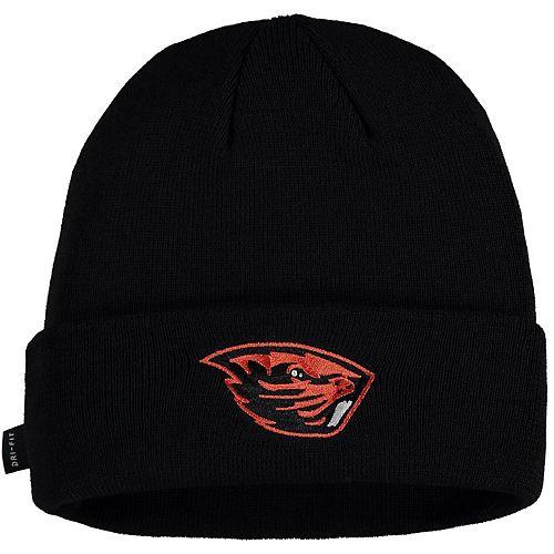 Men's Nike Black Oregon State Beavers Sideline Performance Cuffed Knit Hat