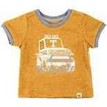 Newborn & Infant Colosseum Tennessee Orange Tennessee Volunteers Mud Flap Ringer T-Shirt