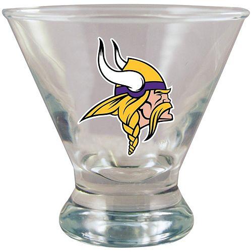 Minnesota Vikings Martini Glass