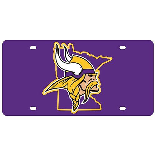 Minnesota Vikings State Pride License Plate