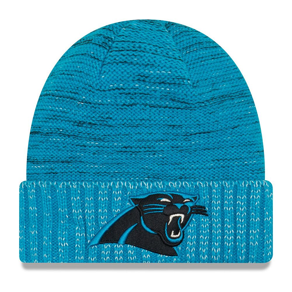Youth New Era Blue Carolina Panthers 2017 Color Rush Official Knit Hat