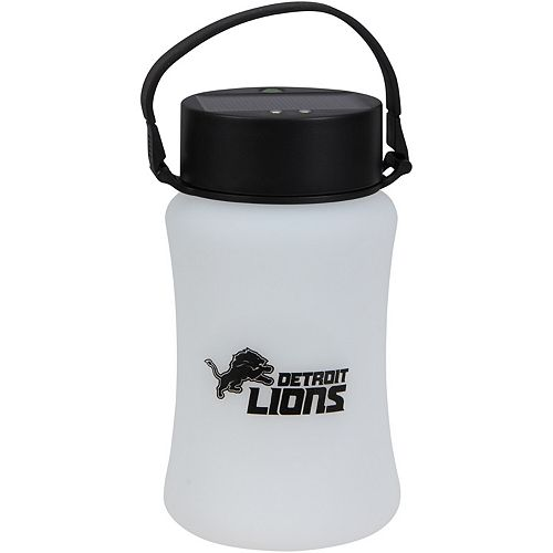 Detroit Lions Frosted Silicone Solar Lantern
