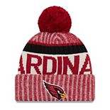 Youth New Era Cardinal Arizona Cardinals 2017 Sideline Official Sport Knit Hat