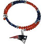 Women's New England Patriots 400 Degrees Crystal Bracelet