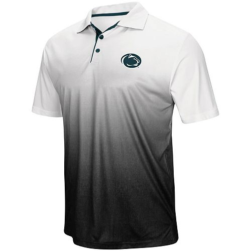 Men's Colosseum Gray Penn State Nittany Lions Magic Team Logo Polo