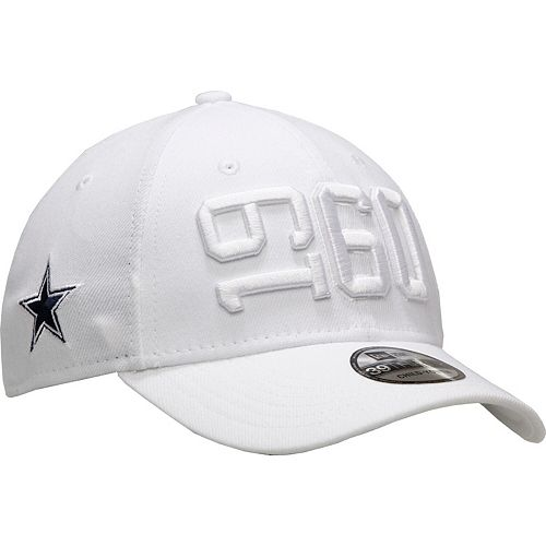 competitive price 5a65c bb4b9 Youth New Era White Dallas Cowboys 2019 NFL Sideline ...