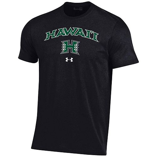 Men's Under Armour Black Hawaii Warriors Arched Performance T-Shirt
