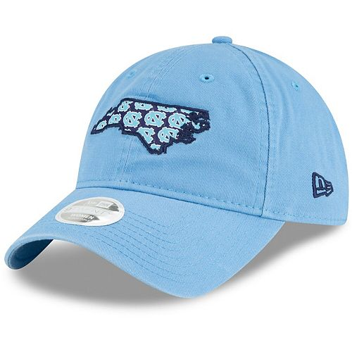 Women's New Era Carolina Blue North Carolina Tar Heels Stamp 9TWENTY Adjustable Hat