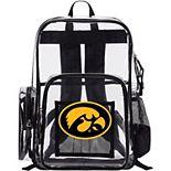 The Northwest Iowa Hawkeyes Dimension Clear Backpack
