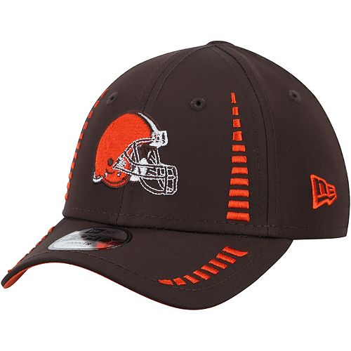 Toddler New Era Brown Cleveland Browns Speed 9FORTY Adjustable Hat