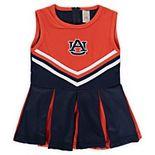 Girls Preschool & Toddler Navy Auburn Tigers One-Piece Cheer Dress