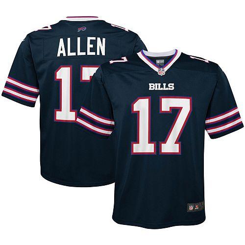 promo code 40540 d14ac Youth Nike Josh Allen Navy Buffalo Bills Inverted Game Jersey