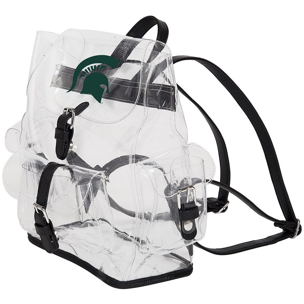 The Northwest Company Michigan State Spartans Lucia Clear Backpack