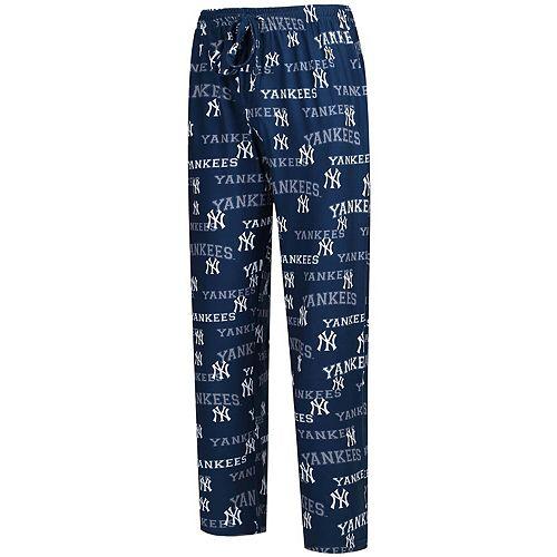 Men's Concepts Sport Navy New York Yankees Fairway Knit Pants