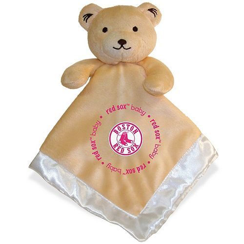Boston Red Sox Infant Security Bear Blanket - Pink