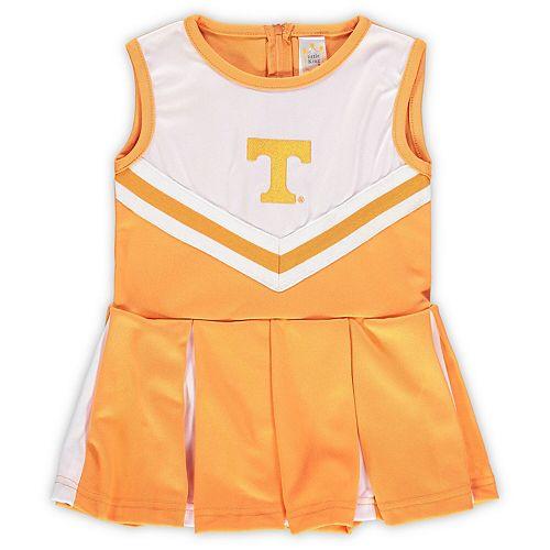 Girls Preschool & Toddler Tennessee Orange Tennessee Volunteers One-Piece Cheer Dress