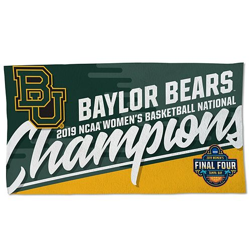 Baylor Bears WinCraft 2019 NCAA Women's Basketball National Champions 22'' x 42'' 2-Sided Official Locker Room Towel