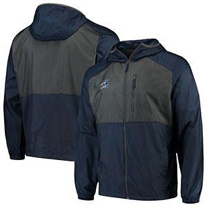 Men's Columbia Navy Chicago White Sox Cooperstown Collection Flash Forward Full-Zip Windbreaker Jacket
