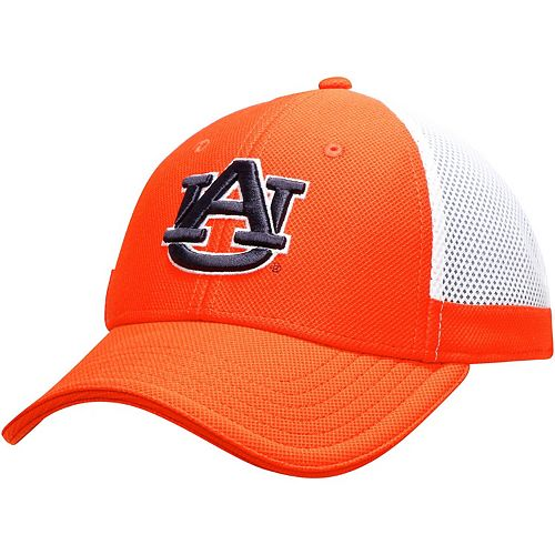 Men's Under Armour Orange Auburn Tigers Team Logo Sideline Blitzing Accent Flex Hat