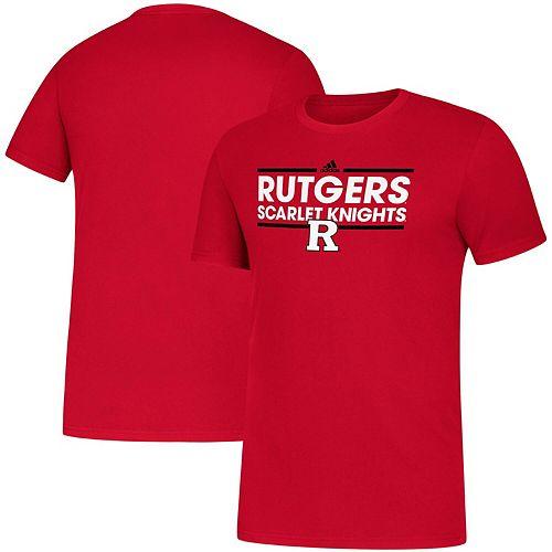 Men's adidas Scarlet Rutgers Scarlet Knights Dassler Amplifier climalite T-Shirt