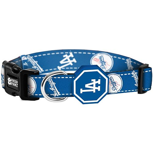 Los Angeles Dodgers Fresh Pawz Pet Collar