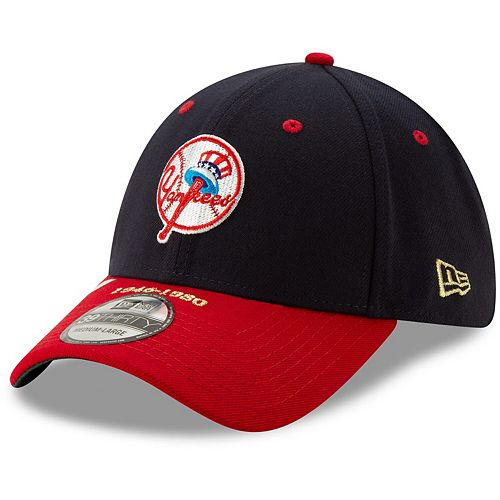 Men's New Era Navy/Red New York Yankees Timeline Collection 39THIRTY Flex Hat
