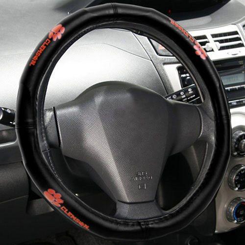 Clemson Tigers Wordmark Steering Wheel Cover
