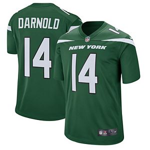 Men's Nike Sam Darnold Gotham Green New York Jets Game Jersey